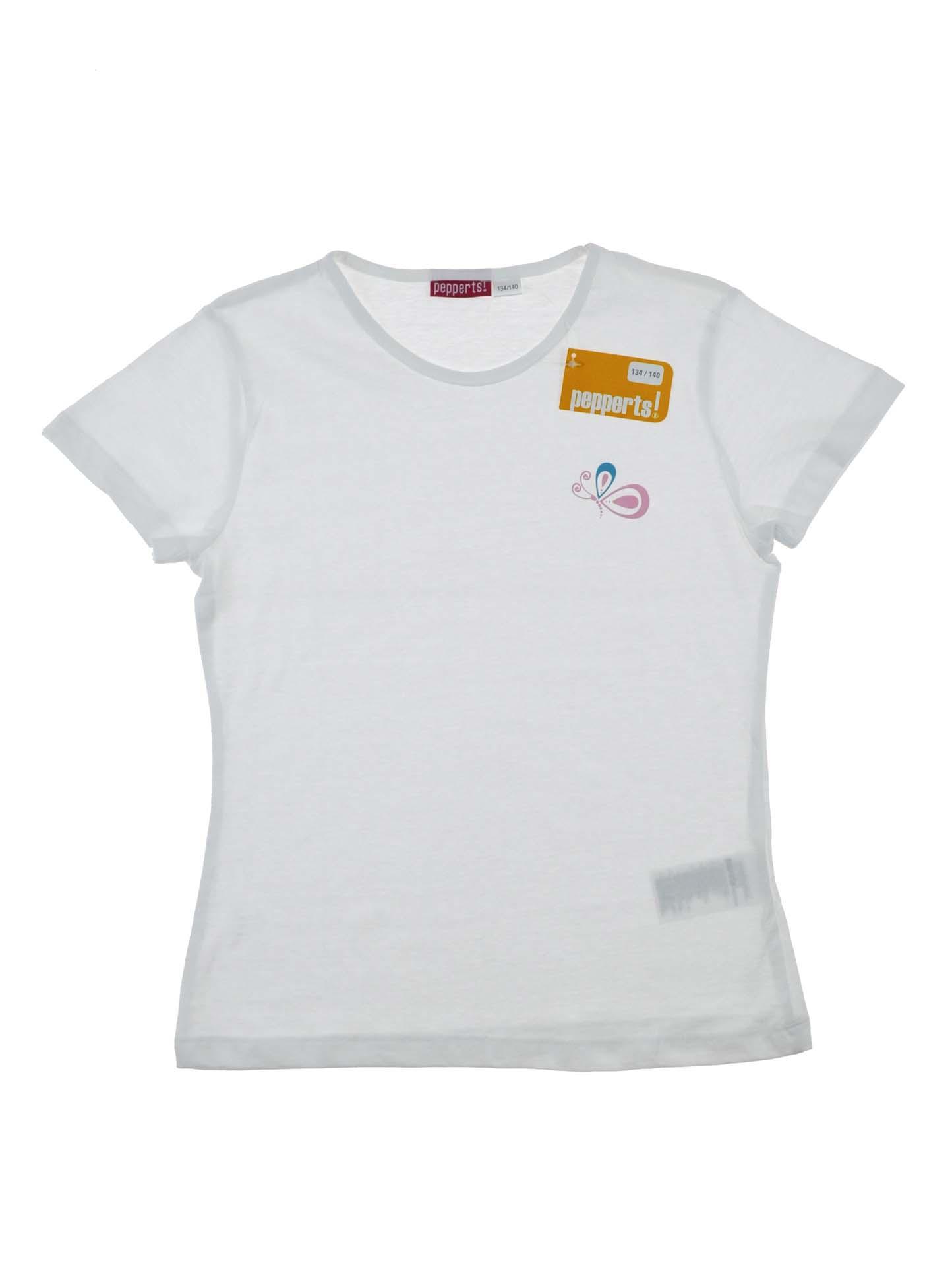 Купити Біла футболка для дівчинки 8-10 років  f3bf39d31bfca