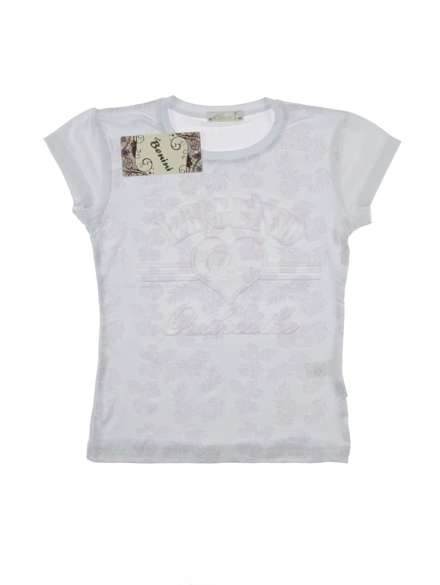 6279ff8e49e0 Купити Біла футболка для дівчинки Legend | Top Shelf | Інтернет ...