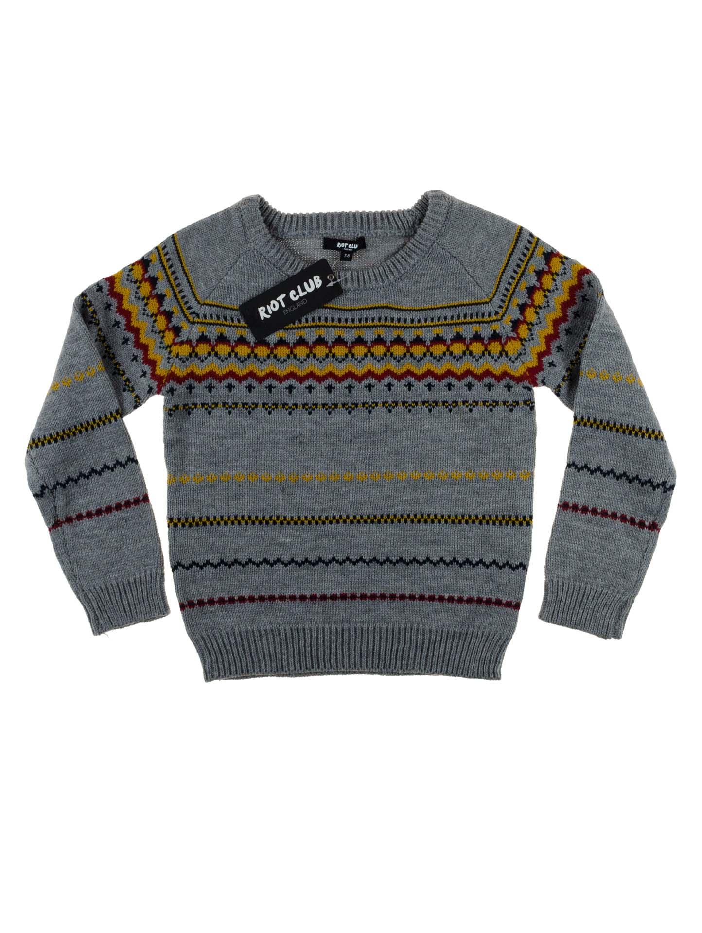 купить вязаный свитер для мальчика Top Shelf интернет магазин